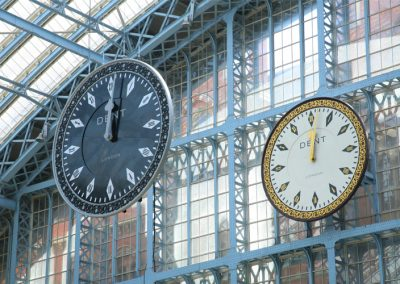 Eclipse Clock, St. Pancras Rail station, London