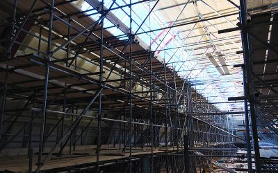 Practice safe scaffolding to prevent accidents